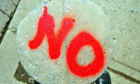 How to Learn to Say No?